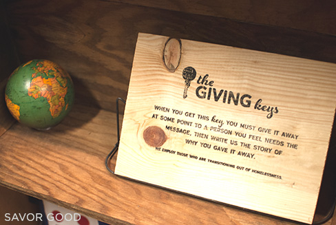 Share & Do Good - Giving Keys